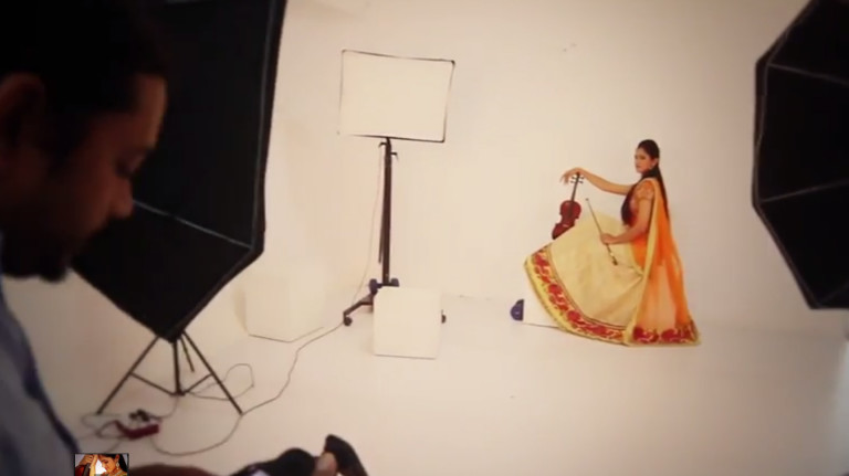 Chettinad Shoot Behind the scenes